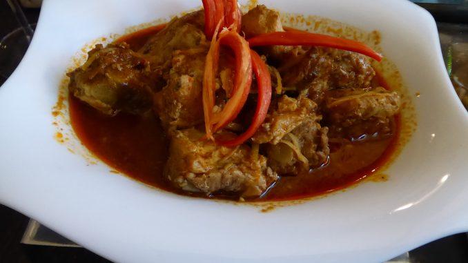 Travers de porc au curry Hangley