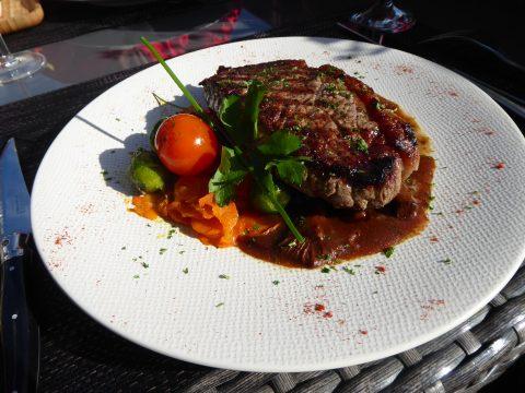 Restaurant Buffet de la Gare de Gryon : Entrecôte