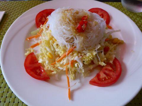 Salade de vermicelles thaï