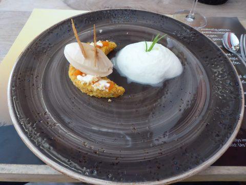Un merveilleux mariage de dessert à base de carottes, de pomme, de gingembre et de citron