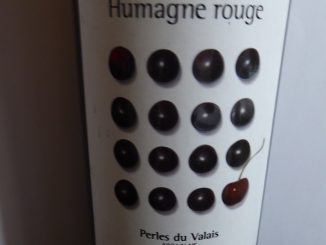 Humagne Rouge 2012, Maison Gilliard