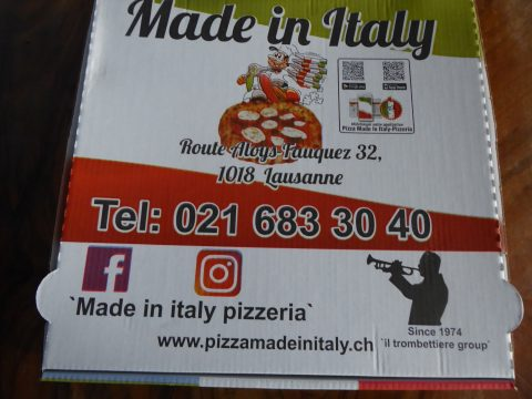 Restaurant Pizzeria Made in Italy, Lausanne