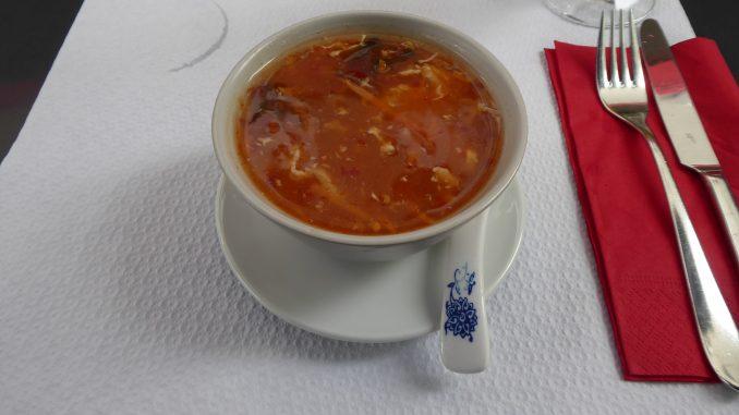 Soupe aigre-piquante