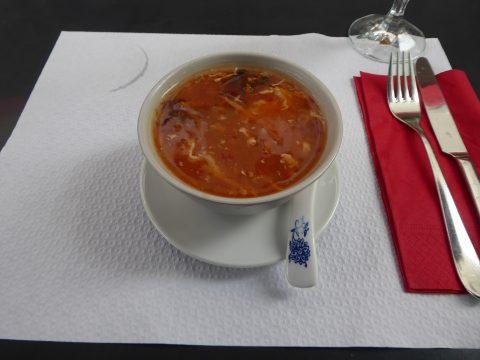 Restaurant Tang Roulou, Lausanne : Soupe aigre-piquante