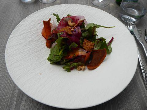 Restaurant Monsieur 14, Lausanne : Salade composée des légumes du jour