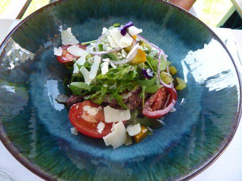 Restaurant Les Chasseurs – Savièse / Mayens de la Zour : Tagliatta de filet de boeuf